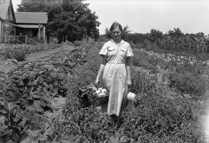 Photo of woman in agriculture