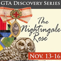 A poster for 'The Nightingale Rose.'