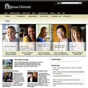 Important update regarding the Brenau Web Page - www.brenau.edu