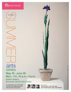 President's Summer Arts Series 2013 Flyer