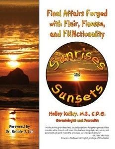 """Sunrises and Sunsets,"" the new book from Brenau alumna Holley Kelley."