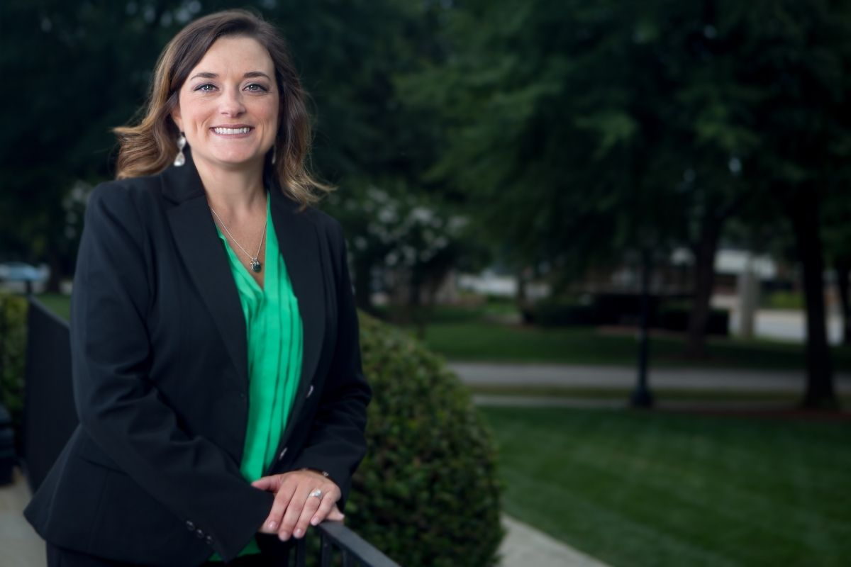 "Brenau's new alumni director Ashley Carter knows the Gainesville campus well - she earned both her undergraduate and graduate degrees from her ""new"" employer."
