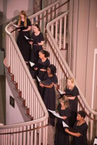 Vocal Chamber Ensemble. (AJ Reynolds/Brenau University)