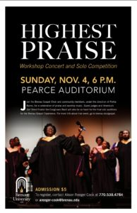 Highest Praise flyer