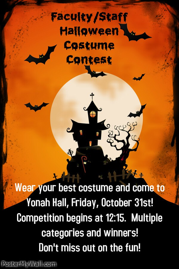 Faculty And Staff Costume Contest Oct 31 Brenau Update